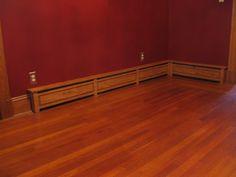 Wood Baseboard Heater Covers | Custom Made Baseboard Radiator Cover