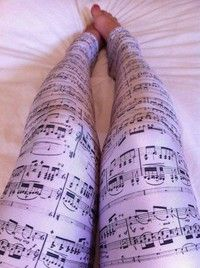 Because they make me think of Melissa- not that she would necessarily wear them- just that she loves music :)