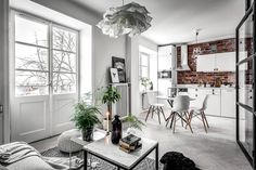 HOME: mieszkanie w skandynawskim stylu