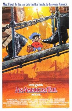 An American Tail movie poster designed by Drew Struzan