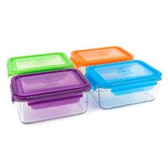 Glass Meal Storage Containers