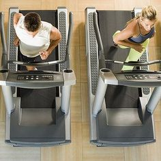 Cardio Workout: Beginner Treadmill routine 40 mins -I am new to exercising so I had to adjust down a little. I would suggest for real beginners to adjust down one full speed on all of the intervals to start with than work up to this chart