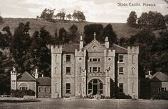 1225361 Stobs Castle, strong hold of the Elliott clan of Scotland.