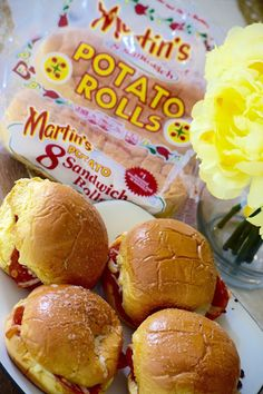 You'll be #ReadyToRoll with these Pepperoni Pizza Sandwiches on Martin's…