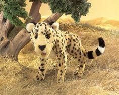 Cheetah Hand Puppet | Folkmanis