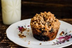 Whole-Grain Blueberry Muffins : Sifting Focus