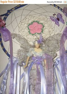40% OFF CHRISTMAS SALE Lavender Fairy by DreamCatcherMan on Etsy