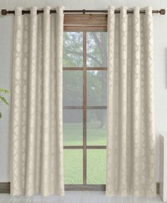 Miller Curtains Estate Room Darkening & Insulating Grommet Curtain Panel Collection - Curtains & Drapes - Macy's