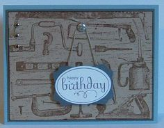 Birthday Tools by woodknot - Cards and Paper Crafts at Splitcoaststampers