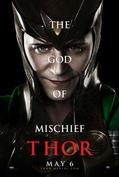 Tom Hideleston. Loki.