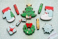Love these Christmas cookies