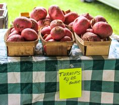 The next you see turnips at the grocery store or at a farmers market, don't pass them up. Instead, chose one of these approachable recipes to find out how to eat turnips. Medicinal Herbs, I Love Food, Veggie Recipes, Grocery Store, Farmers Market, Shop Local, Fresh, Eat, Vegetables