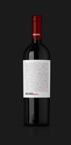 Bienvenidos a las nuevas Bacanales. #WineLabel #Design #BacanalWines #PackagingDesigns #Wine #Label #Malbec #RedBox #RedBoxMendoza