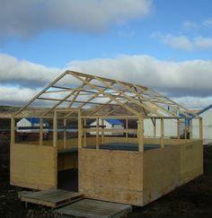 Wood Tent Frame