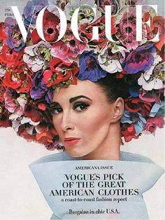 LOviN this vintage Vogue cover!