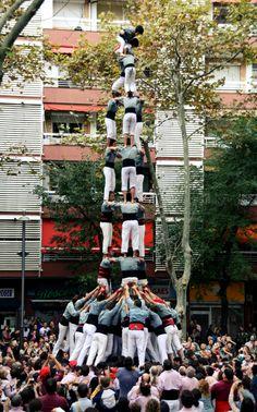 3de9f. Castellers de Sants.