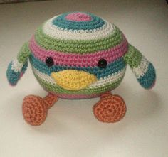 Chirpy Bird free crochet pattern by by Kadi Redman