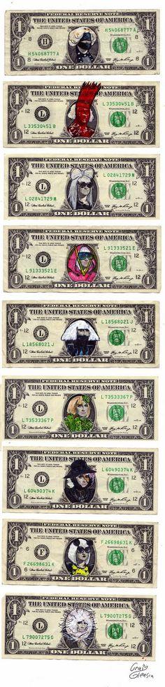 lady gaga on money
