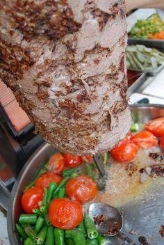 döner kebab detail
