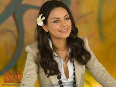 Mila Kunis adorable! <3 (Friends with Benefits was the best movie I've seen in a long time!!)