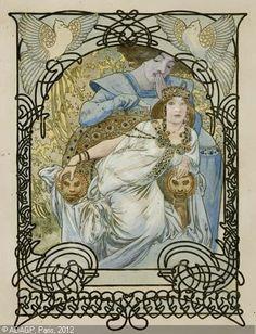 Ilsèe princesse de tripolo, Mucha