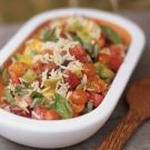 Try the Orzo Salad with Basil and Heirloom Tomatoes Recipe on williams-sonoma.com