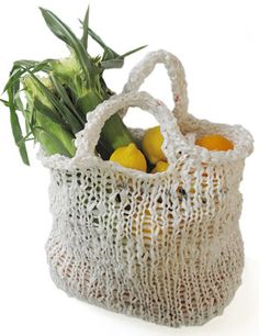 Market bag - recycled plastic bags!