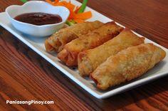 Egg Roll Recipe   Panlasang Pinoy