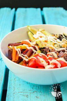 Roasted Veggie Quinoa Mexican Bowl-2