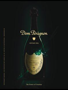 Dom Pérignon Champagne   Advertising