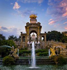 Fuente de la Cascada - Parque de la Ciudadela, Barcelona