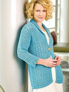 9e76844050d0de Items similar to Plus size Elegant and Beautiful Crochet Lace Cardigan on  Etsy