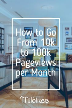 Looking to take your blog from 10k pageviews to 100k? Click through and read this post of great tips to get you there! | MiloTree.com #bloggingtips #SEOtips #entrepreneur #blogger