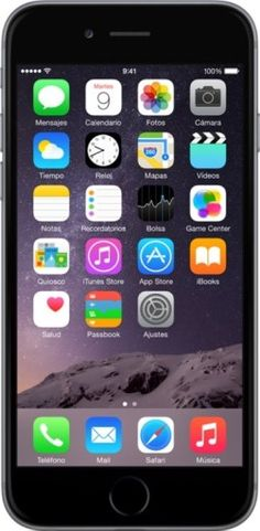 Chollo iPhone 6 Gris por 499 euros (ahorra 140 euros)