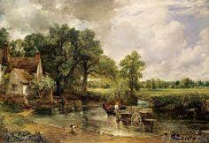 John Constable - The Hay Wain, 1821