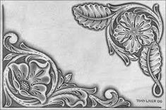 Resultado de imagen para drawings patterns for carving in leather
