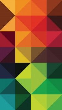 Triangles Geometry Abstract Pattern 720x1280 Wallpaper