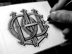 Vintage style hand lettering by Jason Carne.