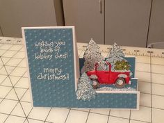 stampin up loads of love christmas card
