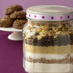 Chocolate-Walnut Cookie Mix - FamilyCircle.com