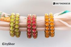 Silk Thread Bangles Design, Silk Bangles, Silk Thread Earrings, Bridal Bangles, Thread Jewellery, Fashion Jewellery Online, Art Bag, Thread Art, Earring Tutorial
