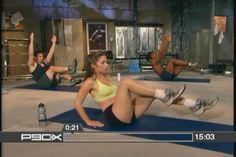 The full 15 minute P90x Ab RipperX video. There's no excuse not to do it ;)