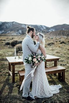 Breathtaking Salt Lake City Elopement Inspiration in the Mountains