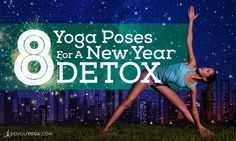 The excess of the holidays can weigh you down. Get fresh and light with these weight yoga poses to detox and cleanse you into your best New Year yet. Namaste Yoga, Yoga Meditation, New Years Detox, Hard Yoga Poses, Yoga Detox, Yoga For Balance, Chair Yoga, Massage Chair, Yoga Positions