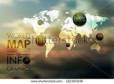 World Map Stock Photos, World Map Stock Photography, World Map Stock Images : Shutterstock.com