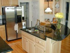 Kitchen Island Ideas Small Space depiction of curved kitchen island ideas for modern homes