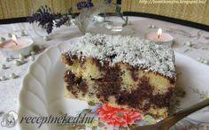 Kakaós-kókuszos fakanalas sütemény recept fotóval