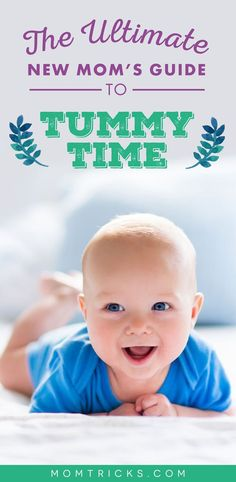 Find out when to start tummy time, read about the best tummy time mat, and learn all the benefits. Find out when to start tummy time, read about the best tummy time mat, and learn all the benefits. Baby Tummy Time, Timmy Time, Baby Development, Physical Development, Newborn Care, Newborn Twins, Newborns, Baby On The Way, Baby Arrival