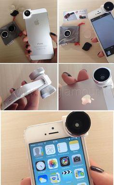 Olloclip obiettivo fotografico per iPhone: opinioni e review