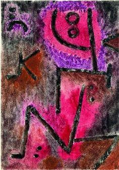 Paul Klee (1879-1940) Brûle encore / glüht nach, 1939. Aquarelle et mine de plomb sur papier sur carton, Fondation Beyeler, Riehen / Basel © Photo : Peter Schibli, Basel © ADAGP, Paris 2010